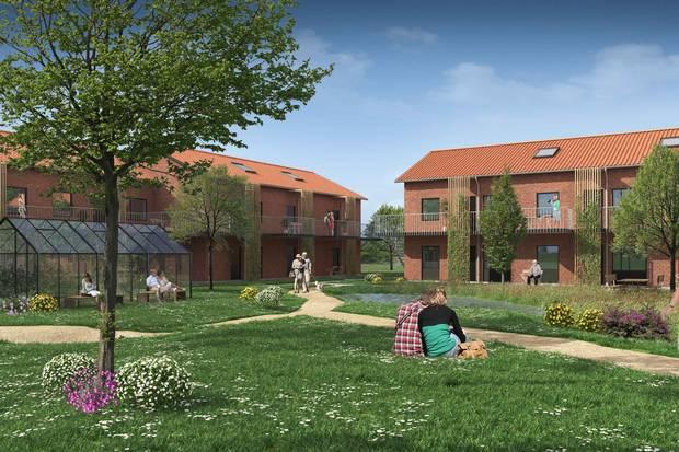 Efter massive investeringer i en række jyske vækstbyer køber amerikanske Goldman Sachs i samarbejde med dansk partner tre boligprojekter i Ringsted.
