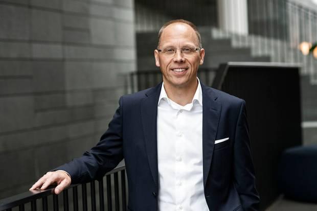 Frank Vang-Jensen er klar til at byde Handelsbankens danske og finske kunder velkommen i Nordea.